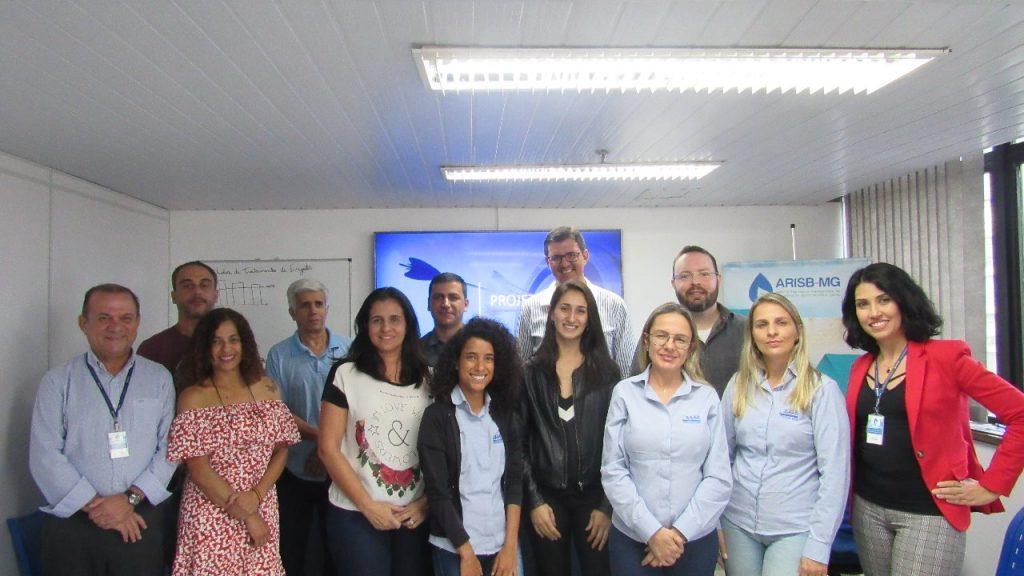 """Encontro da Oficina """"Indicadores do Saneamento e Projeto Acertar"""", realizado na sede da ARISB-MG, nessa quarta-feira, 05, com participação do SAS Barbacena, SAAE Itabirito, SAAE Itaúna e SAAE Lagoa da Prata."""