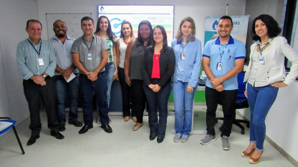 Na tarde dessa quinta-feira, 06, as participações foram SAAE Caeté, SAAE Carmo do Cajuru, SAAE Guanhães e SESAM Carmópolis de Minas.