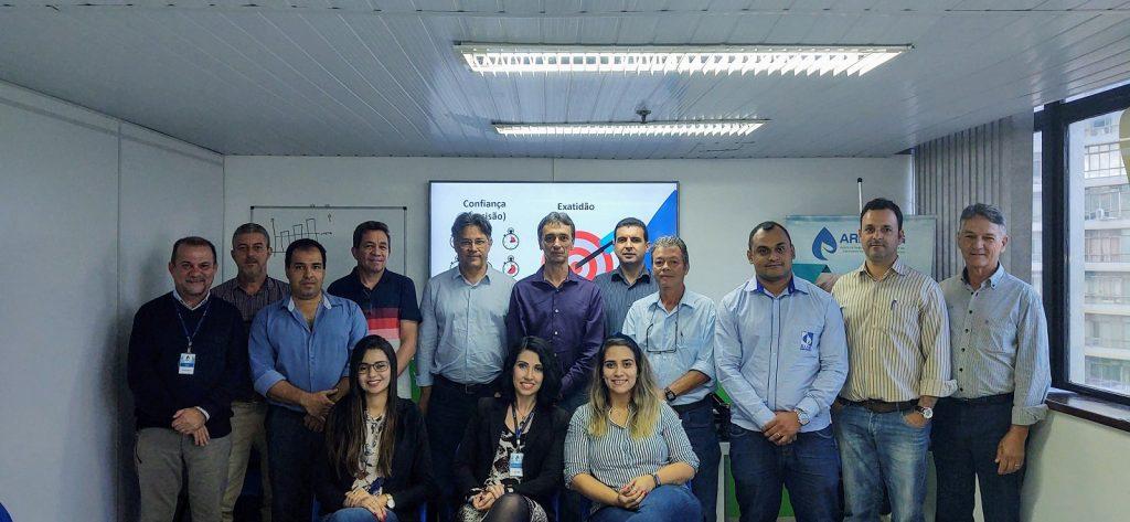 Representantes dos municípios de Ituiutaba, Francisco Sá, Buritizeiro, Bocaiuva, Sacramento, Carmo da Mata e Pirapora no dia 04 de março