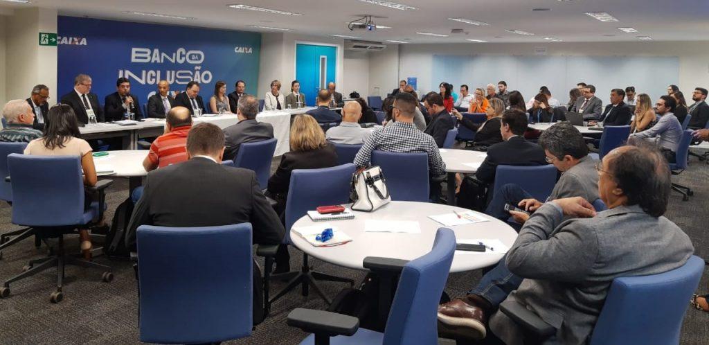 Durante o seminário, realizado em Brasília/DF, foram apresentados os resultados e discutidos o projeto PPI em Resíduos Sólidos